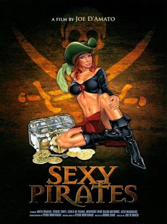 I predatori delle Antille / Sexy Pirates (1999) DVD / Joe D'Amato