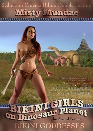 Bikini Girls on Dinosaur Planet (2005) DVDRip [ Seduction Cinema ] Misty Mundae