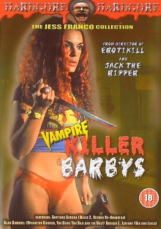 The Killer Barbies / Vampire Killer Barbys / Killer Barbys (1996) Jesús Franco DVD
